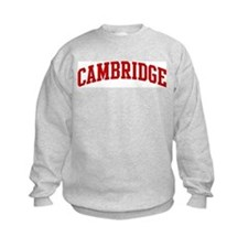 CAMBRIDGE (red) Sweatshirt