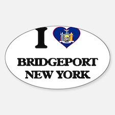 I love Bridgeport New York Decal