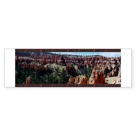 BEAUTIFUL BRYCE CANYON Bumper Sticker