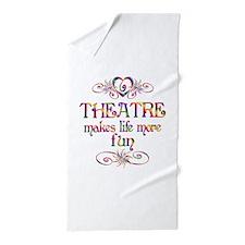 Theatre More Fun Beach Towel