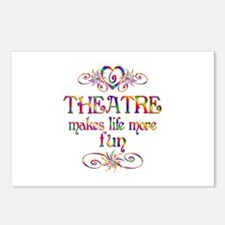 Theatre More Fun Postcards (Package of 8)