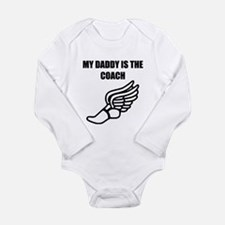 My Daddy Is The Coach Running Body Suit