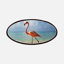 Flamingo On The Beach Patch