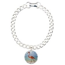 Flamingo On The Beach Bracelet
