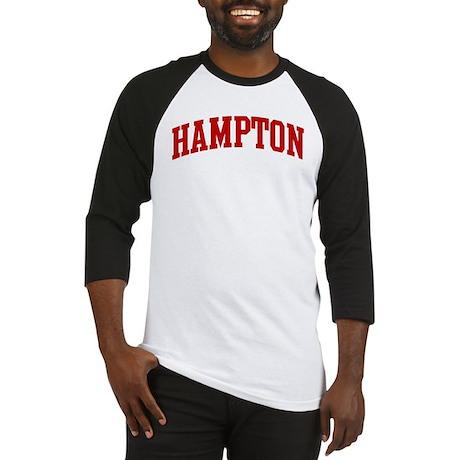 HAMPTON (red) Baseball Jersey