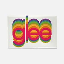 Glee Colorful Logo Rectangle Magnet