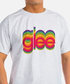 Glee Colorful Logo T-Shirt