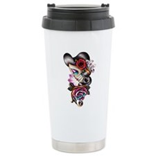 Sugar Skull 075 Travel Mug