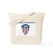 Tommy Thompson 2008 emblem Tote Bag