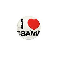 I Heart Obama 01 Mini Button (100 pack)