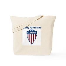 Rudy Giuliani 2008 emblem Tote Bag