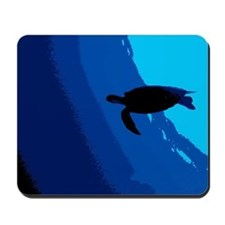 Sea Turtle Art Deco Mousepad