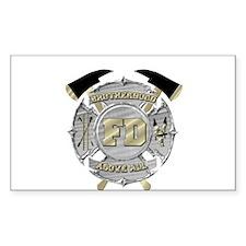 BrotherHood fire service 1 Decal