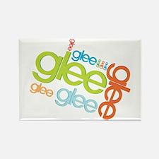 Glee Logos Rectangle Magnet
