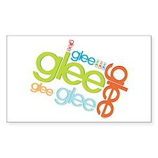 Glee Logos Decal