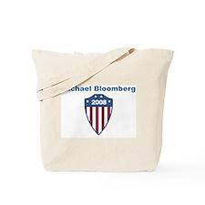 Michael Bloomberg 2008 emblem Tote Bag