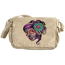 Sugar Skull 039 Messenger Bag
