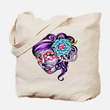 Sugar Skull 039 Tote Bag