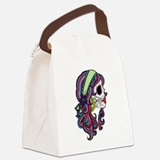 Sugar Skull 070 Canvas Lunch Bag