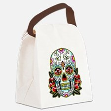 Sugar Skull 067 Canvas Lunch Bag