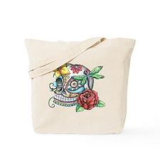 Sugar Skull 069 Tote Bag