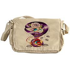 Sugar Skull 022 Messenger Bag