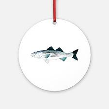 Striped Bass v2 Ornament (Round)