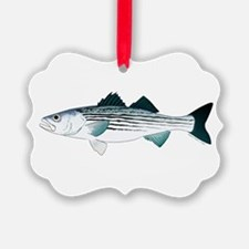 Striped Bass v2 Ornament