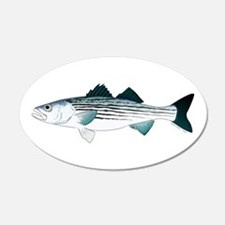 Striped Bass v2 Wall Decal