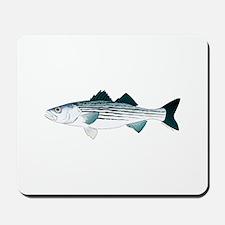 Striped Bass v2 Mousepad