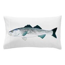 Striped Bass v2 Pillow Case