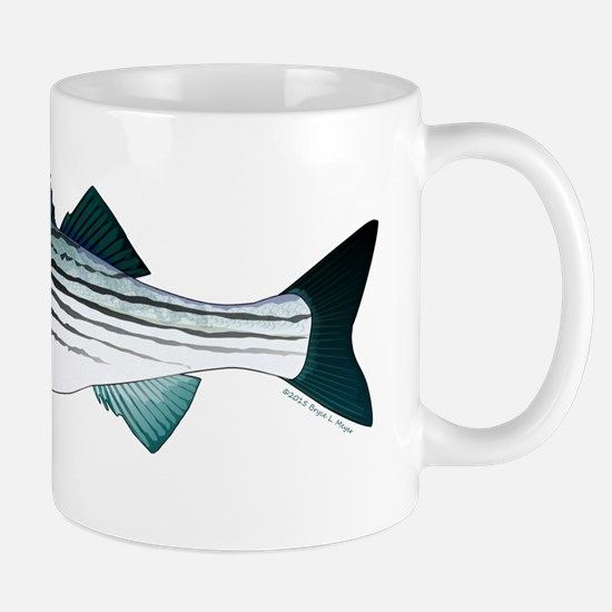 Striped Bass v2 Mugs