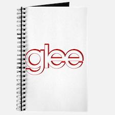 Glee Red & White Journal