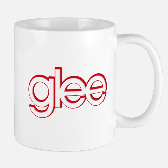Glee Red & White Mug