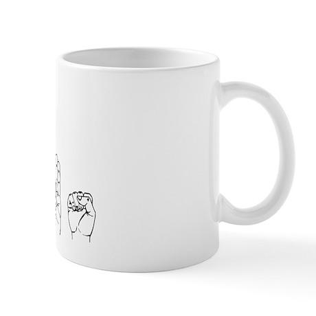 ASL I Love Jesus Mug