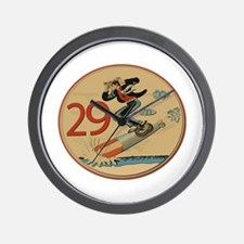WW2 US Navy USN 'Lil Abner' 29 Torpedo Wall Clock