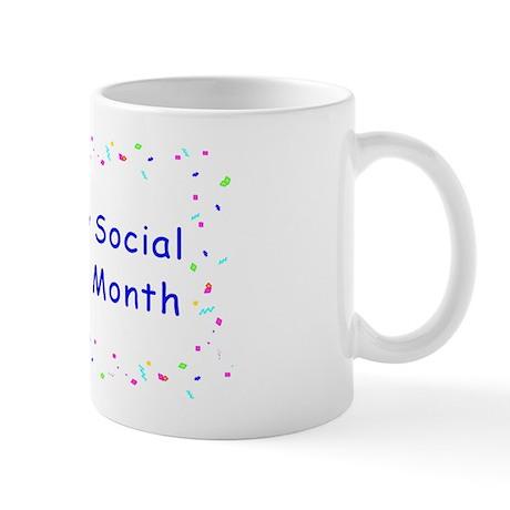 Happy Social Work Month Mug