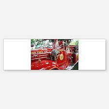 red fire engine 1 Bumper Bumper Bumper Sticker