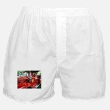 red fire engine 1 Boxer Shorts