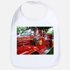 red fire engine 1 Bib