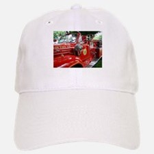 red fire engine 1 Baseball Baseball Cap