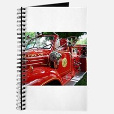 red fire engine 1 Journal