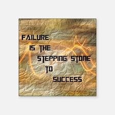 """FailureIsSuccess2 Square Sticker 3"""" x 3"""""""