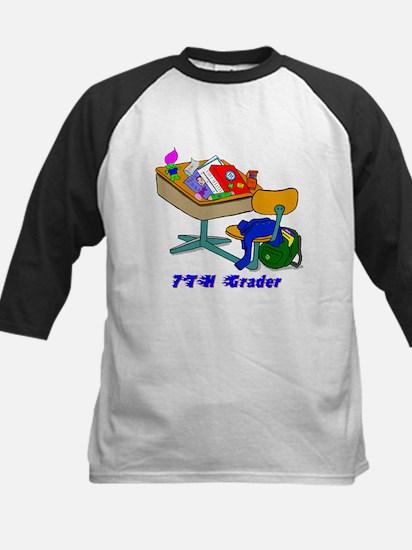 7th Grader Desk Kids Baseball Jersey