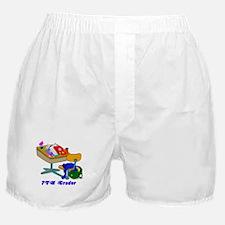 7th Grade Desk Boxer Shorts