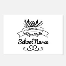 Genuine Quality School Nu Postcards (Package of 8)