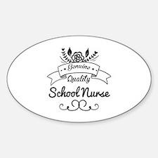Genuine Quality School Nurse Decal