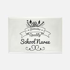 Genuine Quality School Nurse Rectangle Magnet