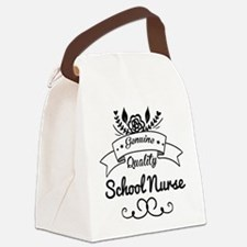 Genuine Quality Nurse Canvas Lunch Bag