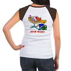 8Th Grader Desk Women's Cap Sleeve T-Shirt